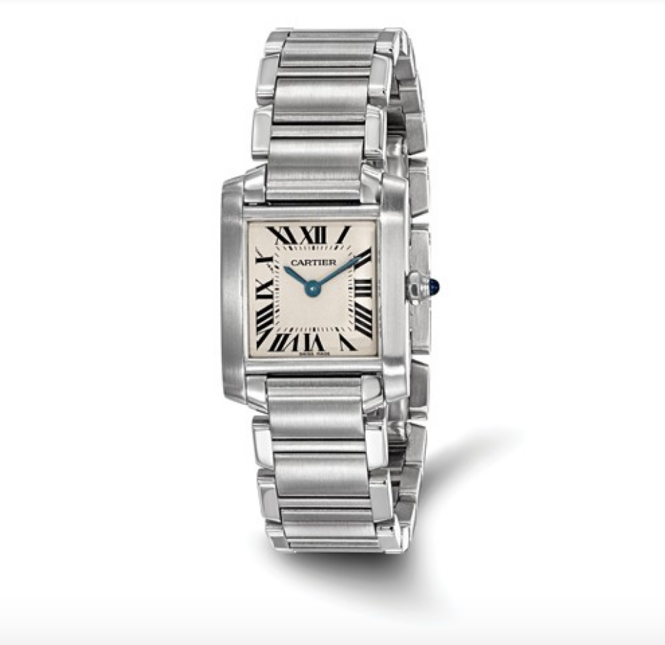 Certified Pre-Owned Cartier Ladies Tank Francaise Watch - Talisman Collection Fine Jewelers