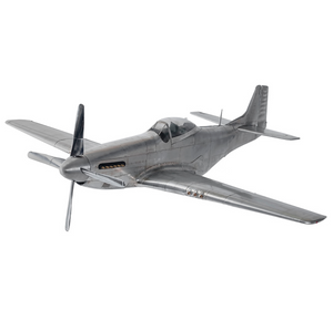 Authentic Models WWII Mustang Plane Model - Talisman Collection Fine Jewelers