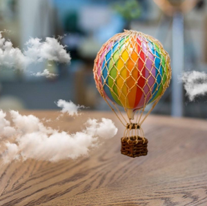 Authentic Models Primary Hot Air Balloon Mobile