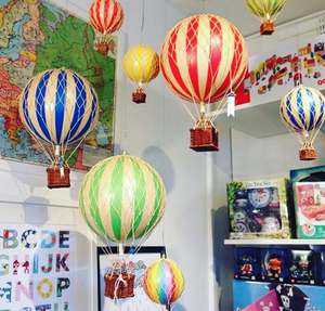Authentic Models Pastel Hot Air Balloon Mobile - Talisman Collection Fine Jewelers
