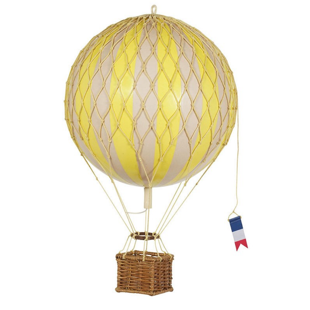Authentic Models Travels Light Small Hot Air Balloon - Talisman Collection