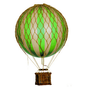 Authentic Models Floating the Skies Mini Hot Air Balloon