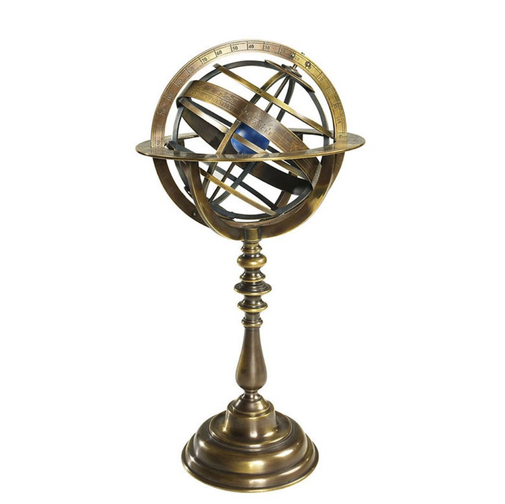 Authentic Models Bronze Armillary Dial - Talisman Collection Fine Jewelers
