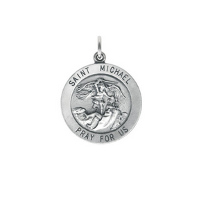 14k Gold St. Michael Pendant - Talisman Collection Fine Jewelers