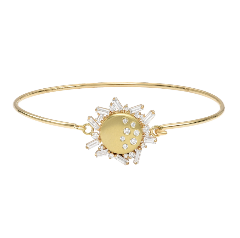 Diamond Eclipse Tension Bracelet by Meredith Young - Talisman Collection Fine Jewelers