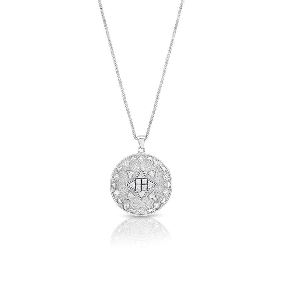 Diamond Psychedelic Necklace by Meredith Young - Talisman Collection Fine Jewelers