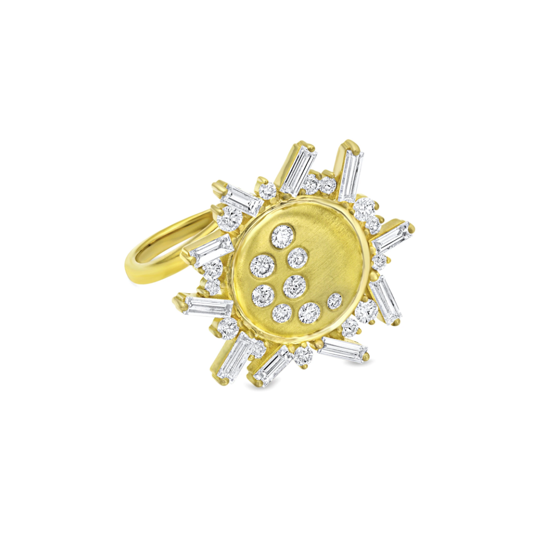 Diamond Eclipse Ring by Meredith Young - Talisman Collection Fine Jewelers