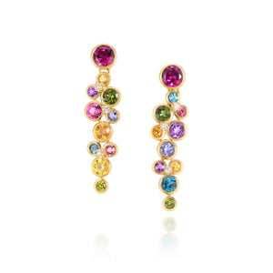 Multi-Color Constellation Earrings by Martha Seely - Talisman Collection Fine Jewelers
