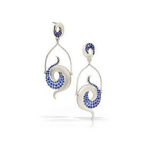 Galaxy Evening Earrings by Martha Seely - Talisman Collection Fine Jewelers