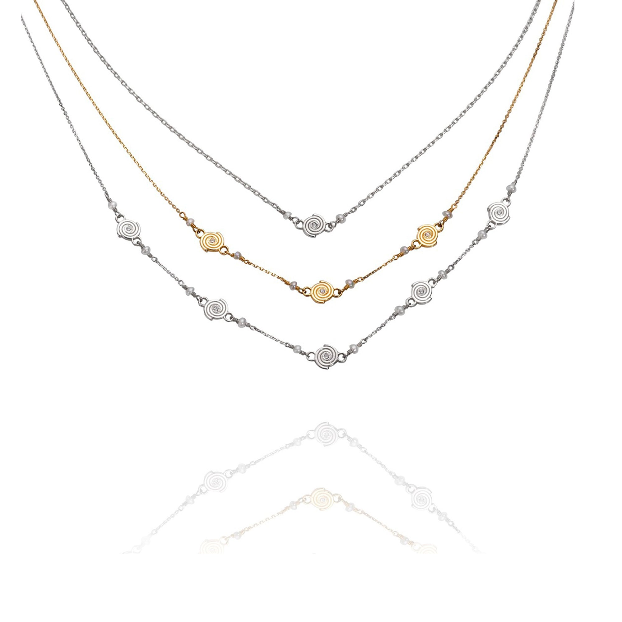 Delicate Galaxy Necklaces by Martha Seely - Talisman Collection Fine Jewelers