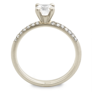 anne sportun diamond engagement ring - talisman collection fine jewelers