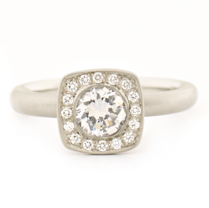 Alexa Engagement Ring by Anne Sportun - Talisman Collection Fine Jewelers