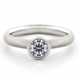 anne sportun classic diamond engagement ring - talisman collection fine jewelers