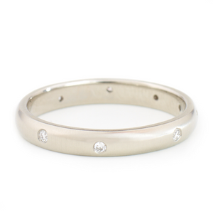 Dancing Diamond Band by Anne Sportun - Talisman Collection Fine Jewelers