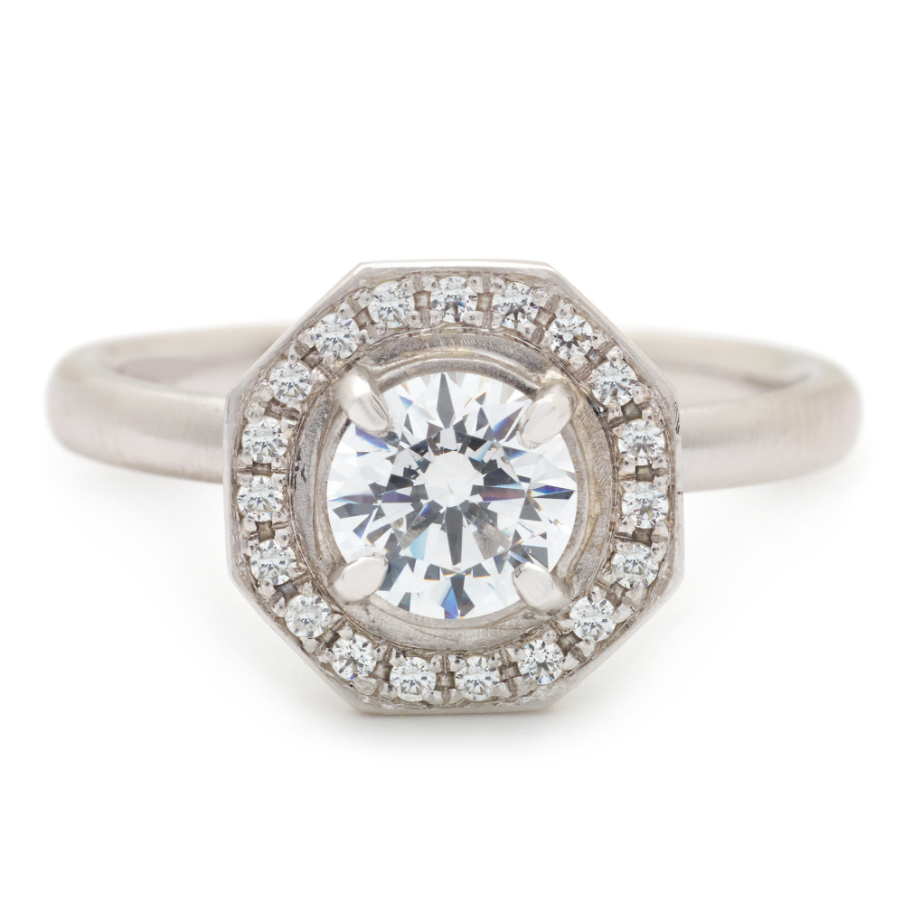 Gabriella Engagement Ring by Anne Sportun - Talisman Collection Fine Jewelers