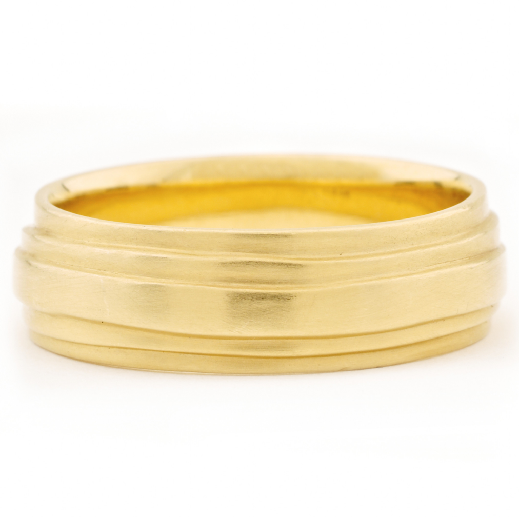 Gold 'Wrap' Band by Anne Sportun - Talisman Collection Fine Jewelers