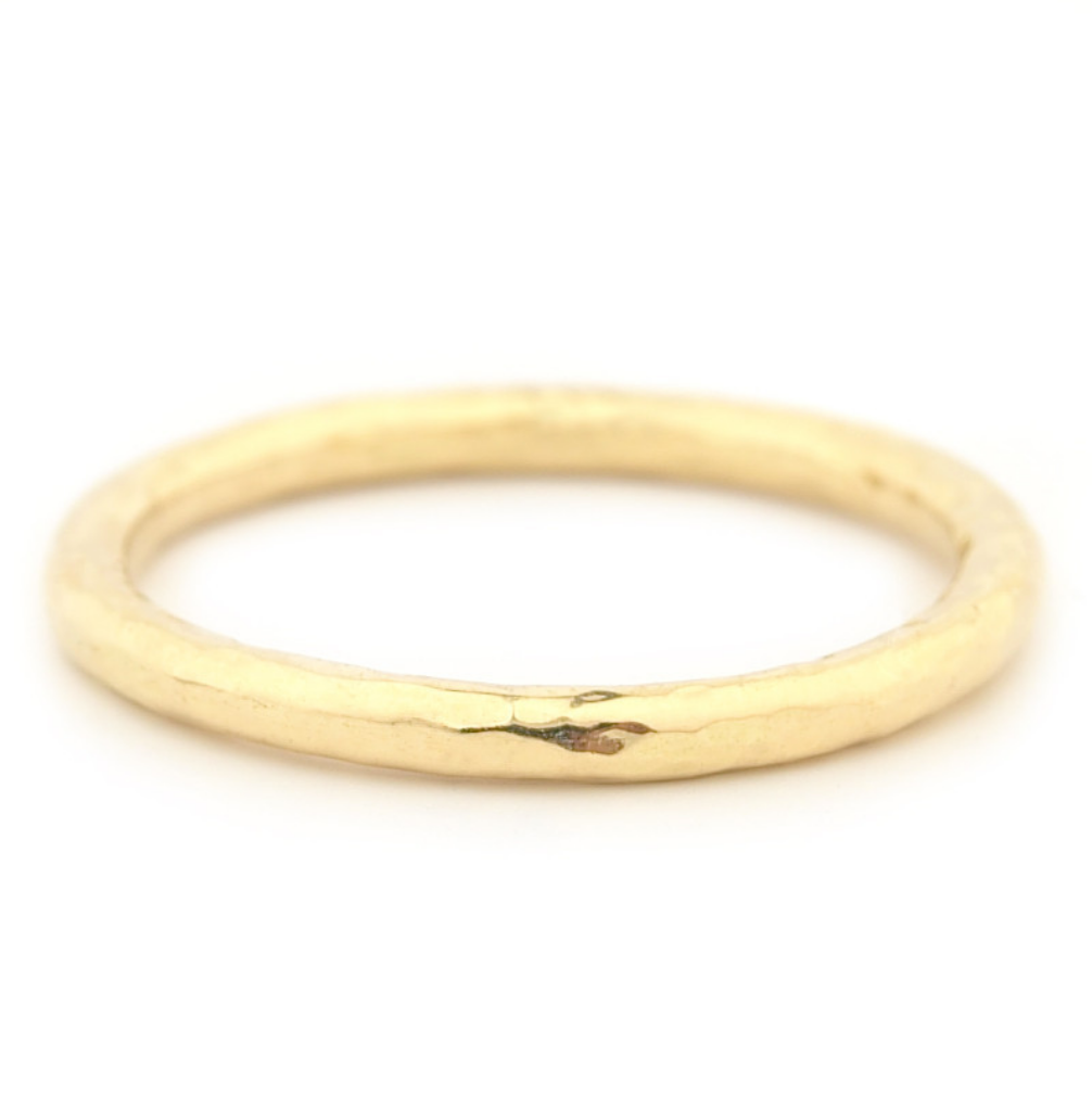 Hammer Finish Band by Anne Sportun - Talisman Collection Fine Jewelers