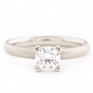 anne sportun leslie solitaire diamond engagement ring - talisman collection fine jewelers