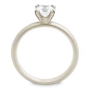 Leslie Solitaire Engagement Ring by Anne Sportun - Talisman Collection Fine Jewelers