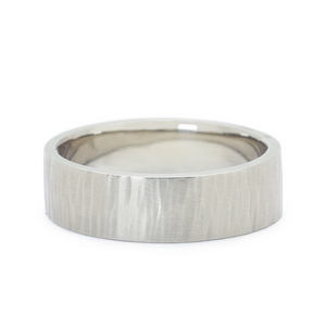 Line Texture Band by Anne Sportun - Talisman Collection Fine Jewelers