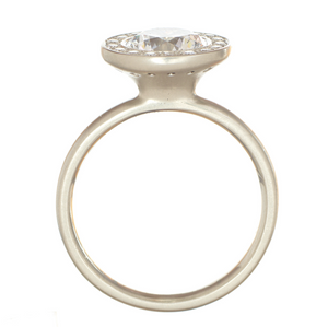 Martini Engagement Ring by Anne Sportun - Talisman Collection Fine Jewelers
