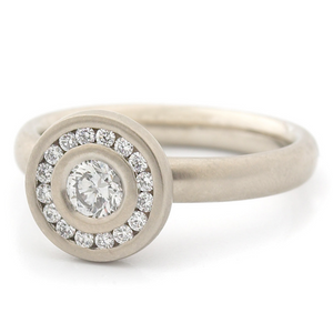 Riley Engagement Ring by Anne Sportun - Talisman Collection Fine Jewelers
