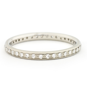 Anne Sportun Single Row Pave Band - Talisman Collection Fine Jewelers