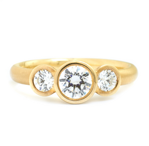 Anne Sportun Trinity Engagement Ring