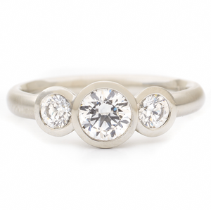 Trinity Engagement Ring by Anne Sportun - Talisman Collection Fine Jewelers