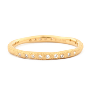 Anne Sportun Wavy Stardust Band - Talisman Collection Fine Jewelers