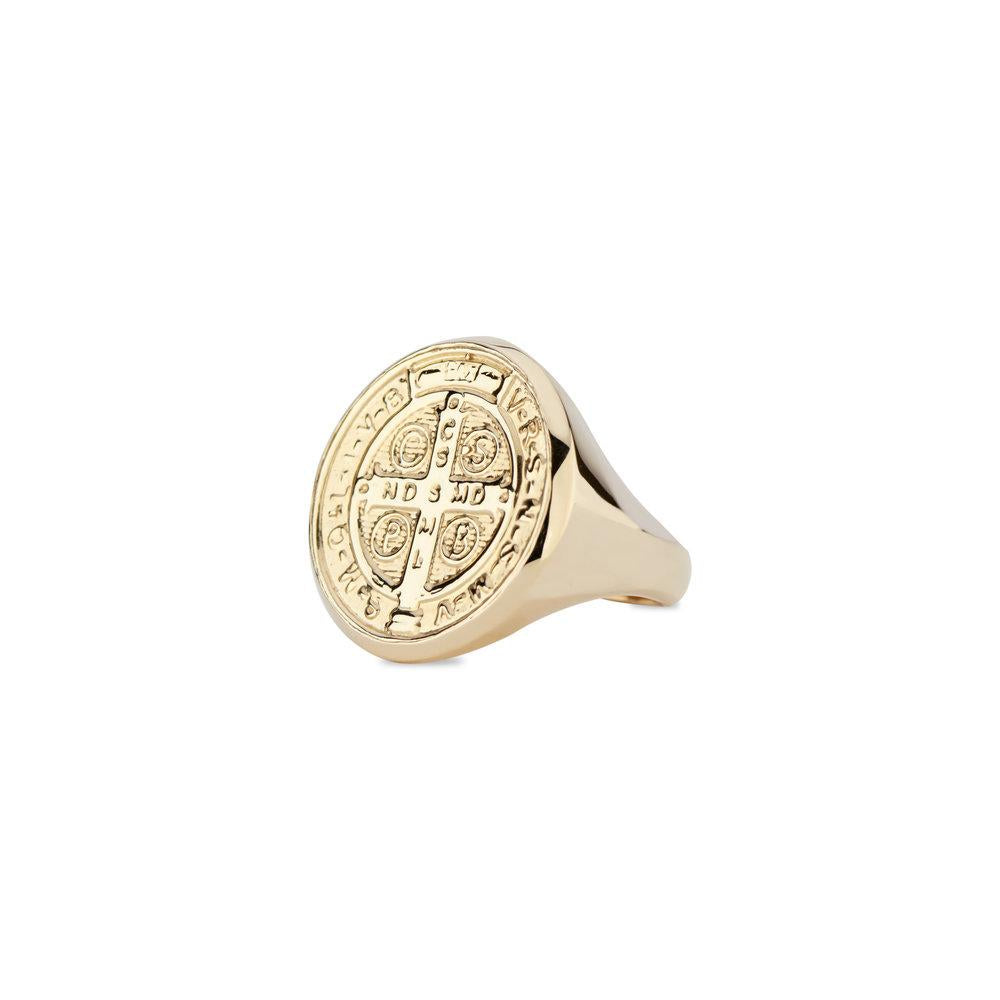 St. Benedict Signet Ring by DRU. - Talisman Collection Fine Jewelers