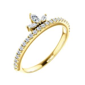 "Diamond ""Crown"" Ring - Talisman Collection Fine Jewelers"