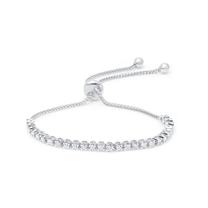 Diamond 1 Carat Bolo Bracelet by Graziela - Talisman Collection Fine Jewelers
