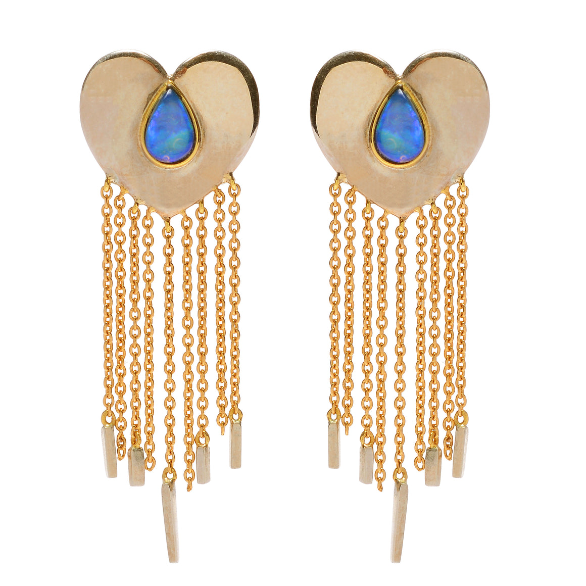"Opal ""Heartfelt"" Earrings by Unhada"