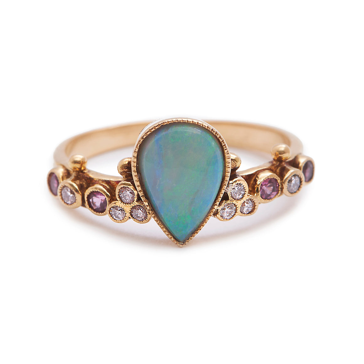 """First Knight"" Australian Opal Ring by Unhada - Talisman Collection"