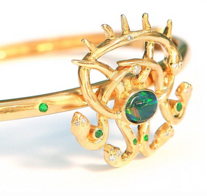"""Atrayu"" Bangle by Unhada - Talisman Collection Fine Jewelers"