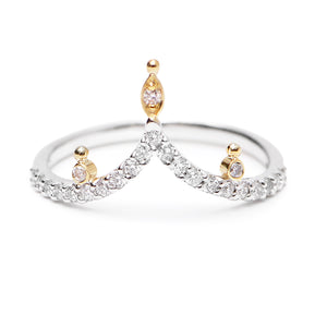 """Bits"" Diamond Band by Unhada - Talisman Collection Fine Jewelers"