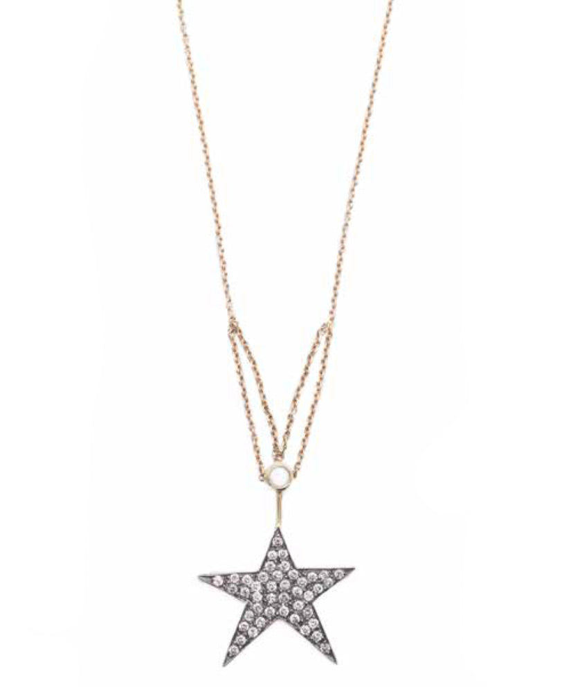 """Bright Star"" Necklace by Unhada - Talisman Collection Fine Jewelers"