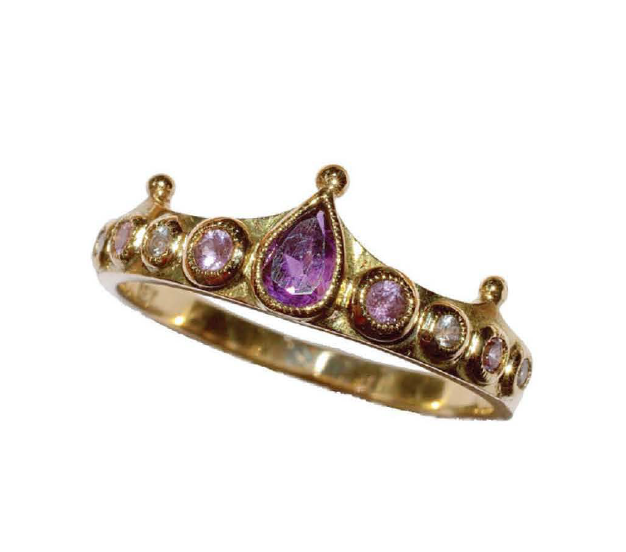 "Amethyst ""Legolas"" Ring by Unhada - Talisman Collection Fine Jewelers"