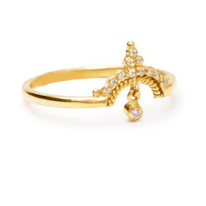 """Lori"" Diamond Ring by Unhada - Talisman Collection Fine Jewelers"