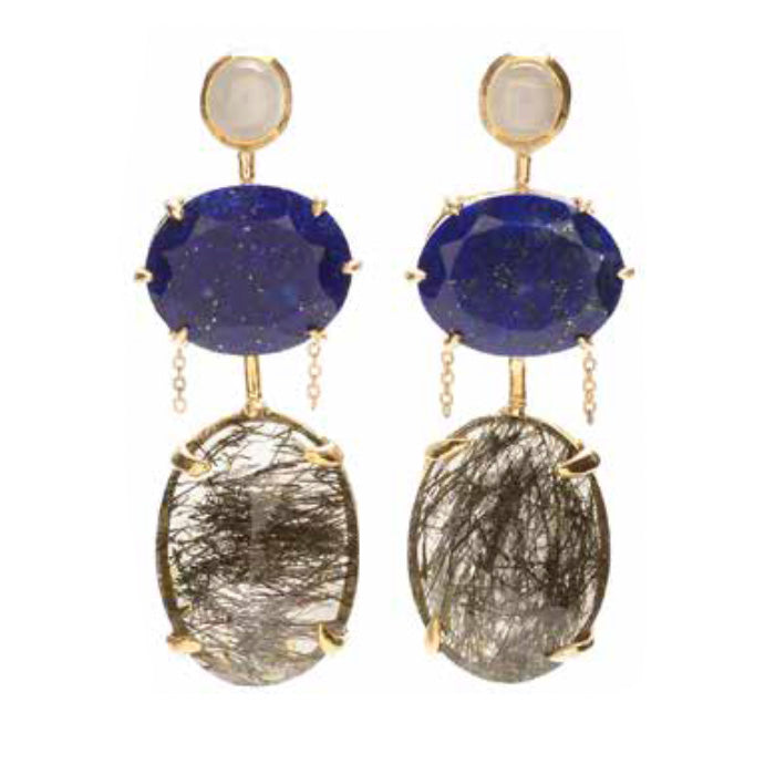 """Sorin"" Earrings by Unhada - Talisman Collection"