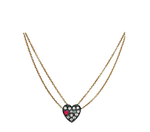 """Tiny Heart"" Necklace by Unhada - Talisman Collection Fine Jewelers"