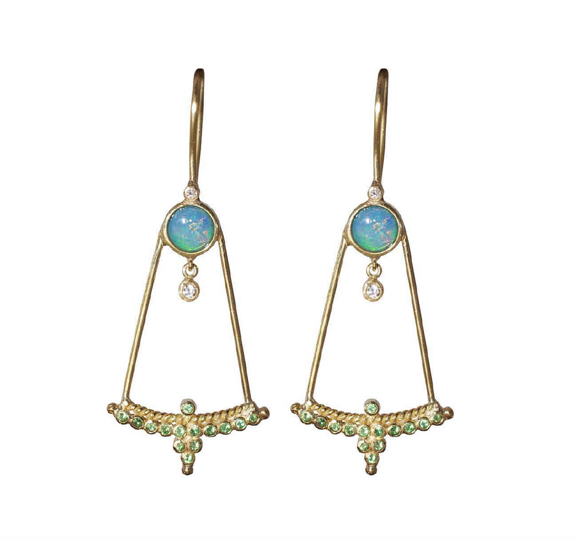 """Upsidedown"" Diadem Earrings by Unhada - Talisman Collection Fine Jewelers"