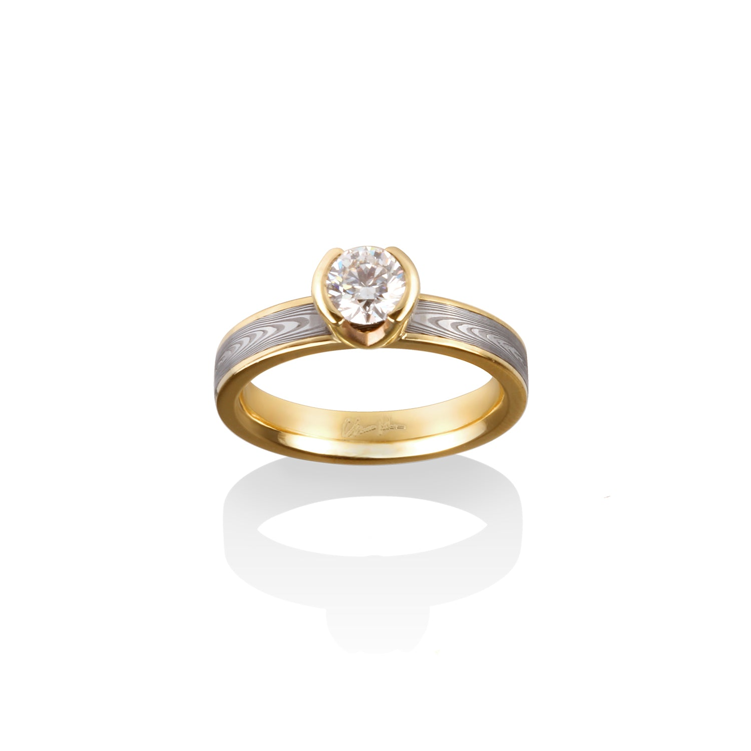 Alexis Engagement Ring by Chris Ploof - Talisman Collection Fine Jewelers