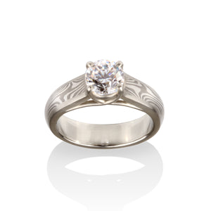 Vivienne Engagement Ring by Chris Ploof - Talisman Collection Fine Jewelers
