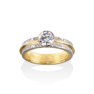 Samantha Engagement Ring by Chris Ploof - Talisman Collection Fine Jewelers