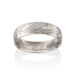Ash Mokume Ring by Chris Ploof - Talisman Collection Fine Jewelers