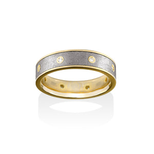 Sirius Diamond Meteorite Ring by Chris Ploof - Talisman Collection Fine Jewelers