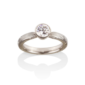 Sophia Engagement Ring by Chris Ploof - Talisman Collection Fine Jewelers