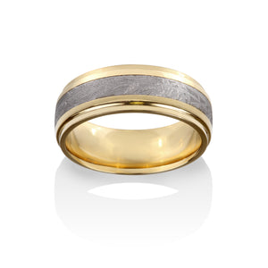 Rigil Kentaurus Meteorite Ring by Chris Ploof - 18K Yellow Gold - Talisman Collection Fine Jewelers